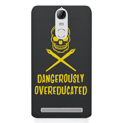 Dangerously overeducated design Lenovo K5 note printed back cover