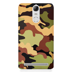 Camoflauge design Lenovo K5 note printed back cover