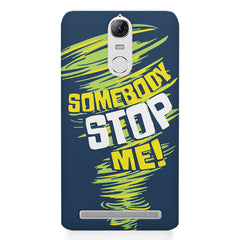 Be Unstoppable design Lenovo K5 note printed back cover