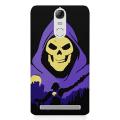 Evil looking skull design Lenovo K5 note printed back cover