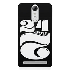 Always hustle design Lenovo K5 note printed back cover
