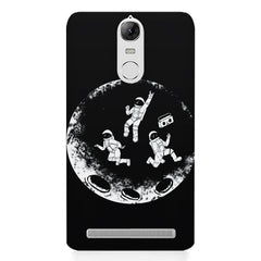 Enjoying space astraunauts design Lenovo K5 note printed back cover