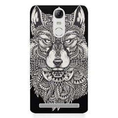Fox illustration design Lenovo K5 note printed back cover