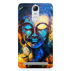 Beautiful Buddha abstract painting full of colors design  Lenovo k5 note hard plastic printed back cover