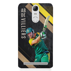 Ab De Villiers the Batting pose    Lenovo k5 note hard plastic printed back cover