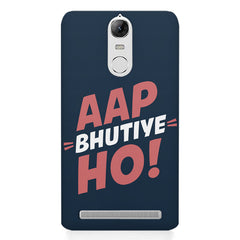 Aap Bhutiye Ho Design Lenovo k5 note hard plastic printed back cover