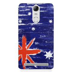 Australian flag design    Lenovo k5 note hard plastic printed back cover