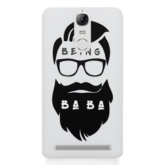 Being BaBa Design Lenovo k5 note hard plastic printed back cover