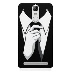Corporate Tie design,  Lenovo K5 note printed back cover