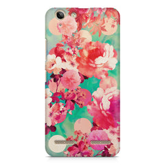 Floral  design,  Lenovo Vibe k5/K5 plus printed back cover