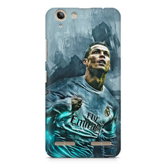 Oil painted ronaldo  design,  Lenovo Vibe k5/K5 plus printed back cover