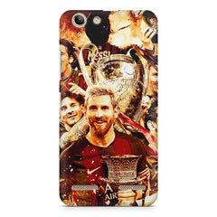 Messi  design,  Lenovo lemon 3 printed back cover