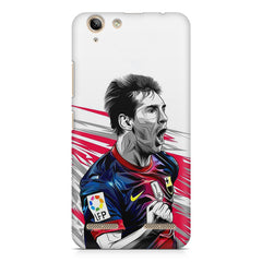 Messi illustration design,  Lenovo Vibe k5/K5 plus printed back cover