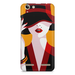 Classy girl  design,  Lenovo lemon 3 printed back cover