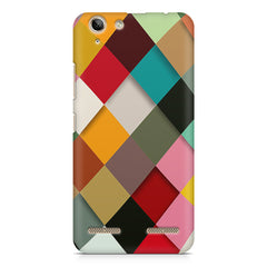 Graphic Design diamonds   Lenovo lemon 3 printed back cover