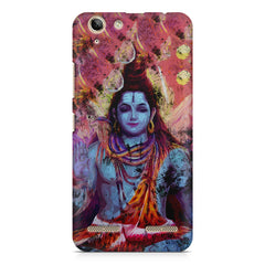 Shiva painted design Lenovo Vibe k5/K5 plus printed back cover