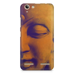 Peaceful Serene Lord Buddha Lenovo Vibe k5/K5 plus printed back cover