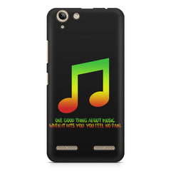Music quotes  Lenovo Vibe k5/K5 plus printed back cover