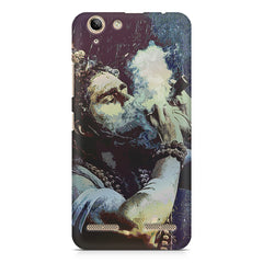 Smoking weed design Lenovo Vibe k5/K5 plus printed back cover