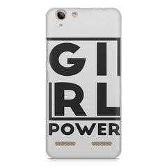 Girl power deisgn Lenovo Vibe k5/K5 plus printed back cover