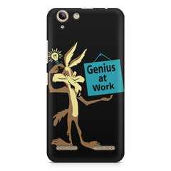 Genius at work design Lenovo Vibe k5/K5 plus printed back cover