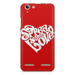 Spread some love design Lenovo Vibe k5/K5 plus printed back cover