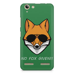 No fox given design Lenovo Vibe k5/K5 plus printed back cover