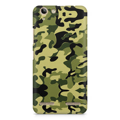 Camoflauge army color design Lenovo Vibe k5/K5 plus printed back cover