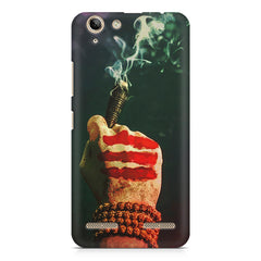 Smoke weed (chillam) design Lenovo Vibe k5/K5 plus printed back cover