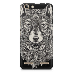 Fox illustration design Lenovo Vibe k5/K5 plus printed back cover