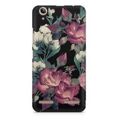 Abstract colorful flower design Lenovo Vibe k5/K5 plus printed back cover