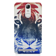 Pixel Tiger Design Lenovo lemon 3 hard plastic printed back cover