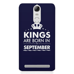 Kings are born in September design    Lenovo lemon 3 hard plastic printed back cover