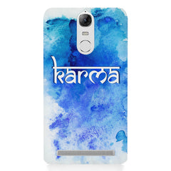 Karma Lenovo lemon 3 hard plastic printed back cover
