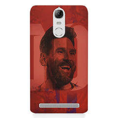 Messi jersey 10 blended design Lenovo lemon 3 hard plastic printed back cover
