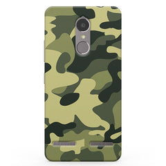 Army Design Vibe K6 printed back cover
