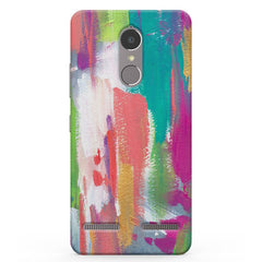 Abstract Painting Vibe K6 printed back cover