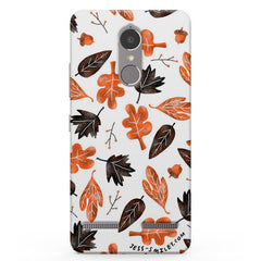 Autumn Leaves Vibe K6 printed back cover