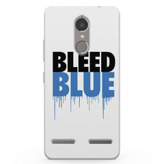 Bleed Blue  Vibe K6 printed back cover