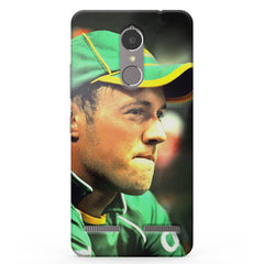 Ab De Villiers South Africa  Vibe K6 printed back cover
