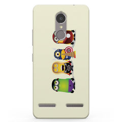 Super minions Lenevo K6 printed back cover