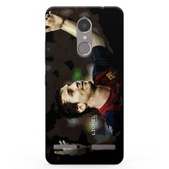 Lionel Messi FCB Lenevo K6 printed back cover