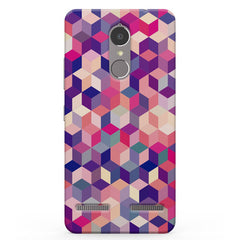 3D Colorful shapes Vibe K6 printed back cover