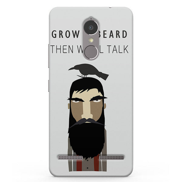 Beard Swag Vibe K6 printed back cover