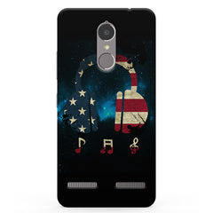 America Tunes Vibe K6 printed back cover