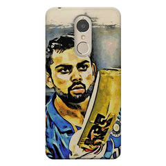 Virat Kohli  design,  Lenovo k6 note printed back cover