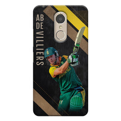 Ab De Villiers the Batting pose    Lenovo k6 note hard plastic printed back cover