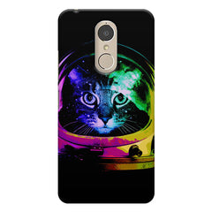 Astro Cat design    Lenovo k6 note hard plastic printed back cover
