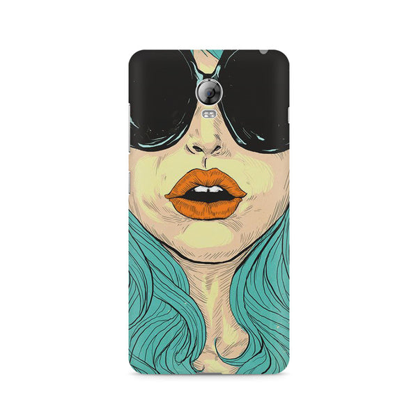 Beautiful Woman Oil Painting Lenovo Vibe P1 printed back cover