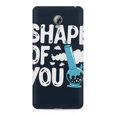 Shape of You Bong design, Lenovo Vibe P1 printed back cover